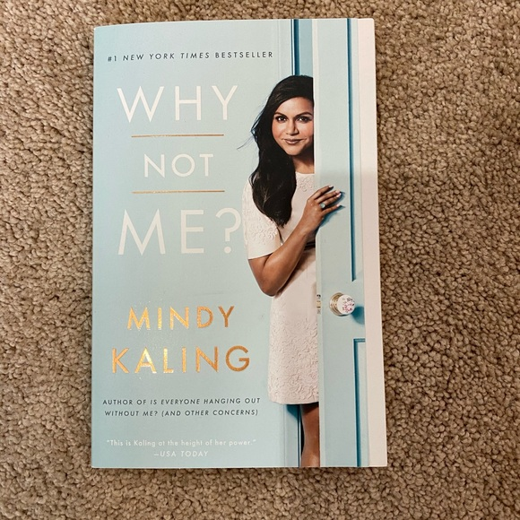 Other 525 Why Not Me Book By Mindy Kaling Poshmark